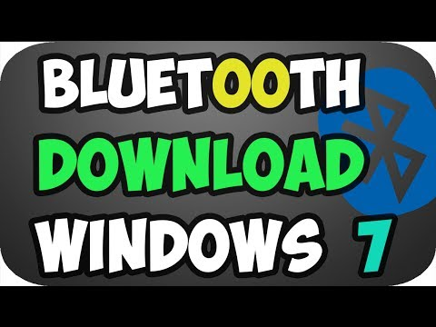 How to Download Bluetooth Driver for windows 7