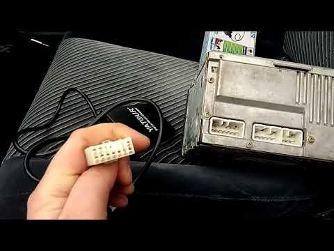 Установка USB  AUX в штатную магнитолу TOYOTA.  Адаптер Yatour.