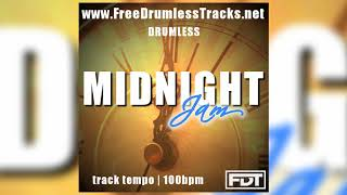 Midnight Jam - Drumless (www.FreeDrumlessTracks.net)