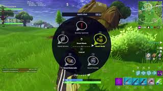 Fortnite battle royal scammer tries to get my account in 50v50 [PC]