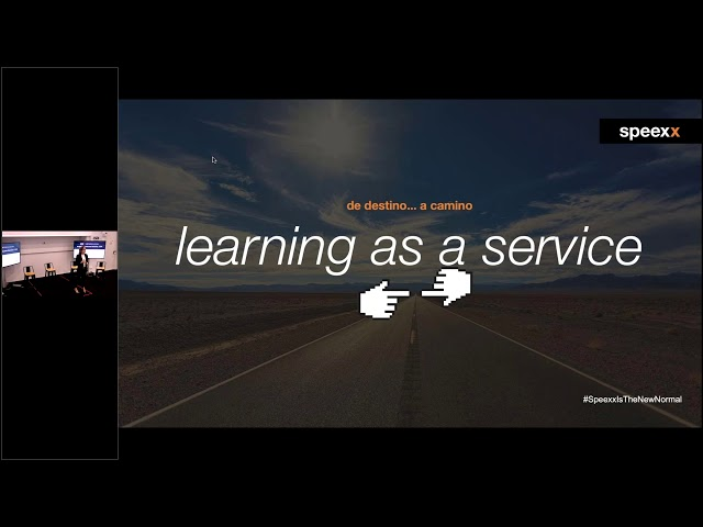 Learning as a service - De destino a Camino | Elena Giménez