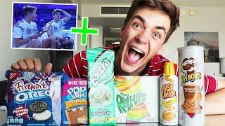 Die VERRÜCKTESTEN Snacks aus USA 🇺🇸 🍭 (mit Luca)