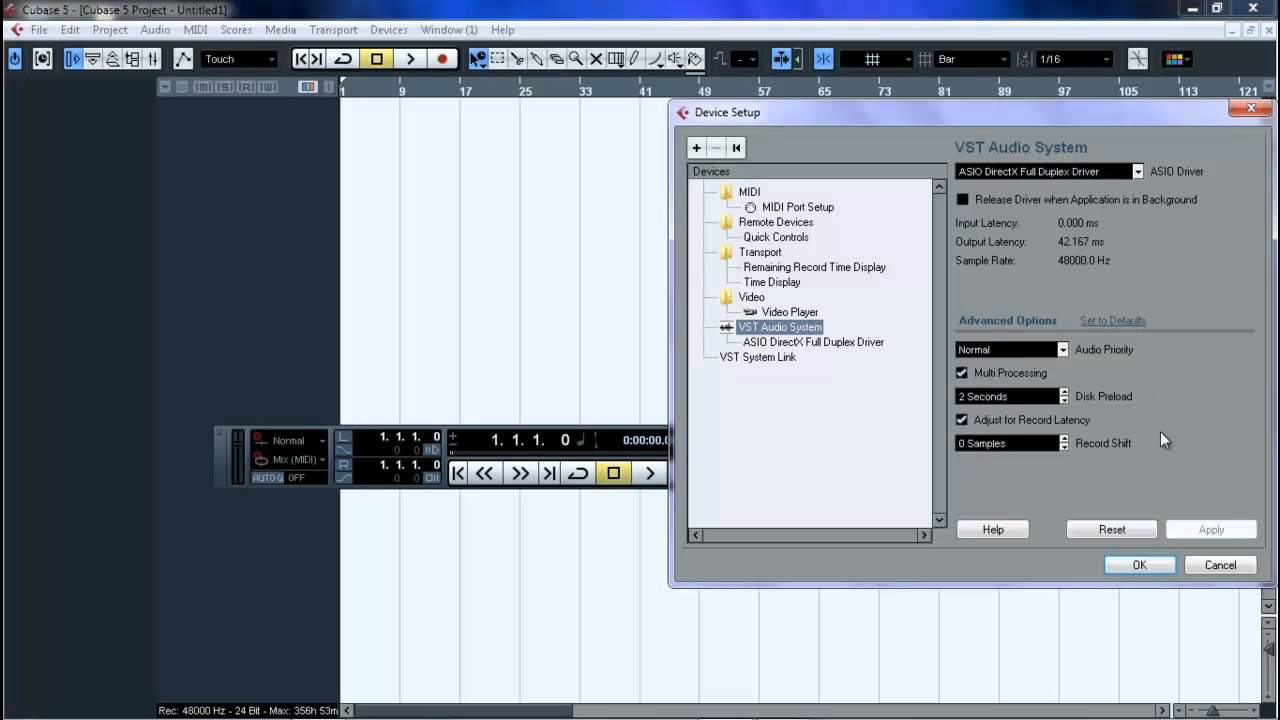 cubase 5 getting started pdf