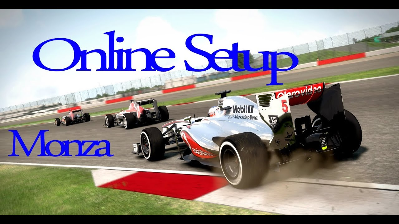 F1 2013 Monza Italy Online Setup - 1:20:702 - YouTube
