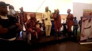 Wale embassy crew at Efon alaye Ekiti.