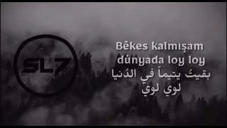 """İbrahim Şiyar - Dost Bulamadım  ►T-Rap Remix ◄ أغنية تركية""""لن أستطيع العثور على صديق"""" مترجمة للعربية"""