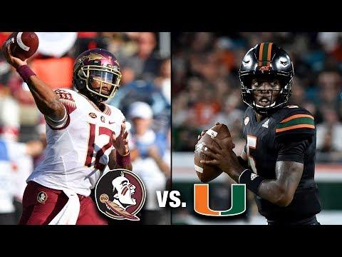 Florida State Vs. Miami Preview