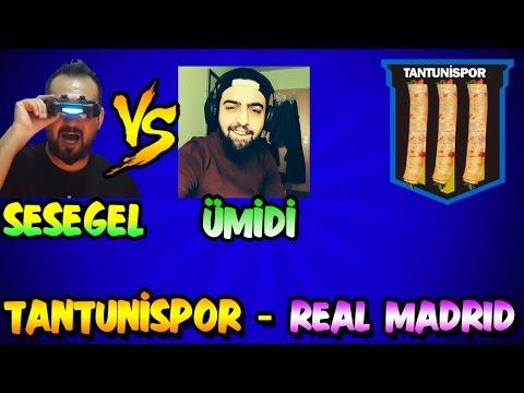 ÜMİDİ ile TANTUNİSPOR-REAL MADRID Maçı | İNTİKAM!