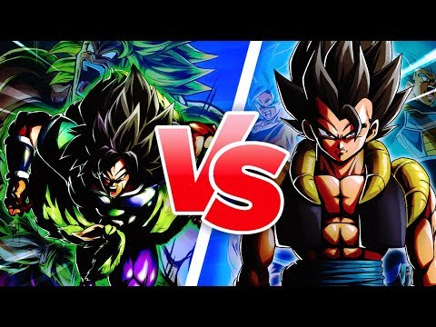 FULL POWER BROLY vs DBS GOGETA CHALLENGE!? Dragon Ball Legends DB