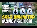 "GTA 5 Glitches: ""SOLO MONEY GLITCH AFTER PATCH 1.14!"" NEW ""Unlimited Money Glitch"" ""GTA 5 Glitches"""