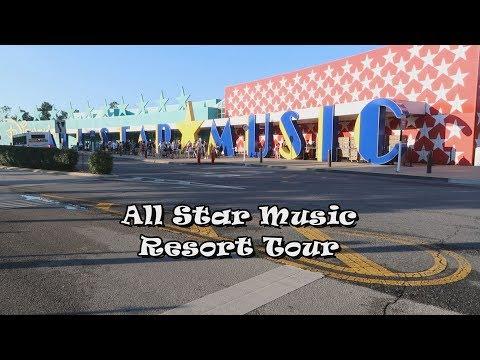 All Star Music Resort Tour
