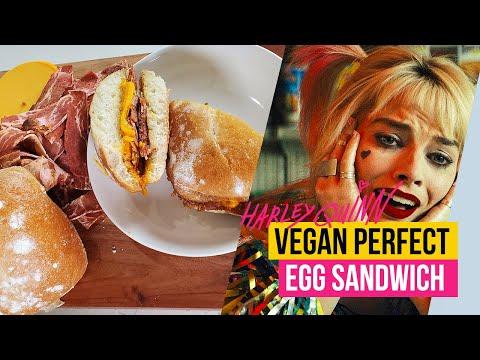 Harley Quinn Vegan Egg Sandwich Recipe   S03E03