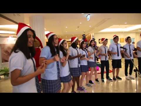 Christmas Carol Performance by Wells International School