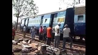 Train Accident on 8th May 2013 Railway Bilaspur Zone C.G.