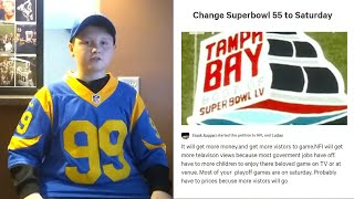 16-Year-Old Petitions to Move Super Bowl to Saturday