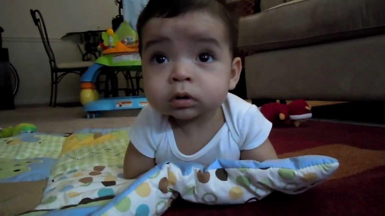 Mi bebe de 4 meses y medio youtube - Bebes de tres meses ...