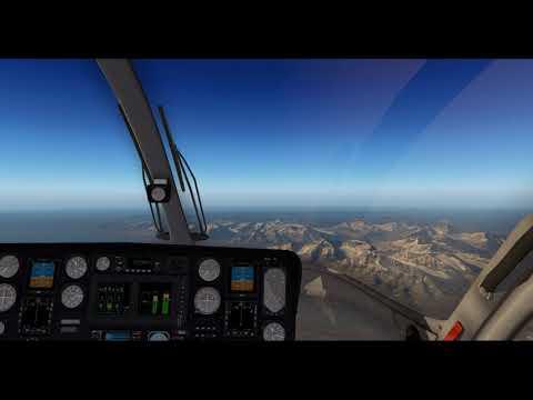 MD-902 Explorer (WIP) – Test-Flight 5-A + 5-B – Svalbard (ENSA ENSB) – X-Plane 11.11