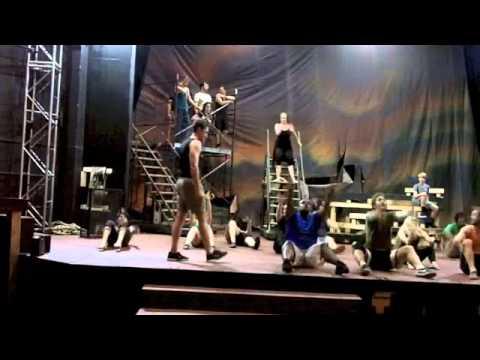 Jesus Christ Superstar rehearsal at Seattle Musical Theatre