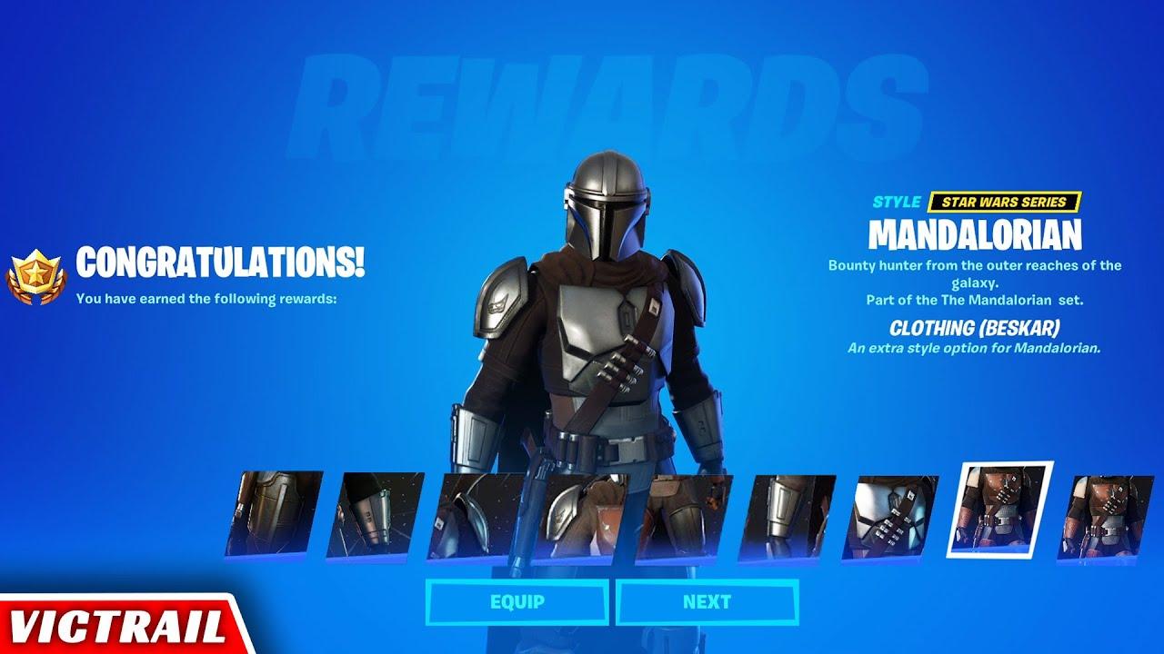 Download How to Unlock Full Beskar Armor for Mandalorian Outfit in Fortnite