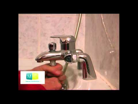 plomberie problme robinet mitigeur baignoire plumbing problem bathtub mixer tap - Schema Montage Robinet Grohe