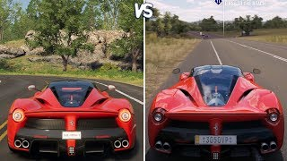 The Crew 2 vs Forza Horizon 3 - Ferrari LaFerrari Gameplay Comparison HD