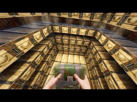 RAIDING the BIGGEST, WIDE-OPEN, CLAN LOOT ROOM in RUST