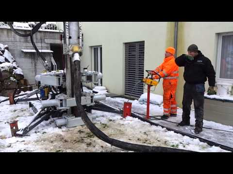 TERRA DRILL 150x7 V, Powerful vertical drilling even in narrow areas