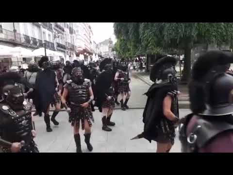 La Guardia Pretoriana toma el centro de Lucus