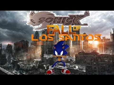 sonic x the movie 3 fall of los santos reveal trailer 2013