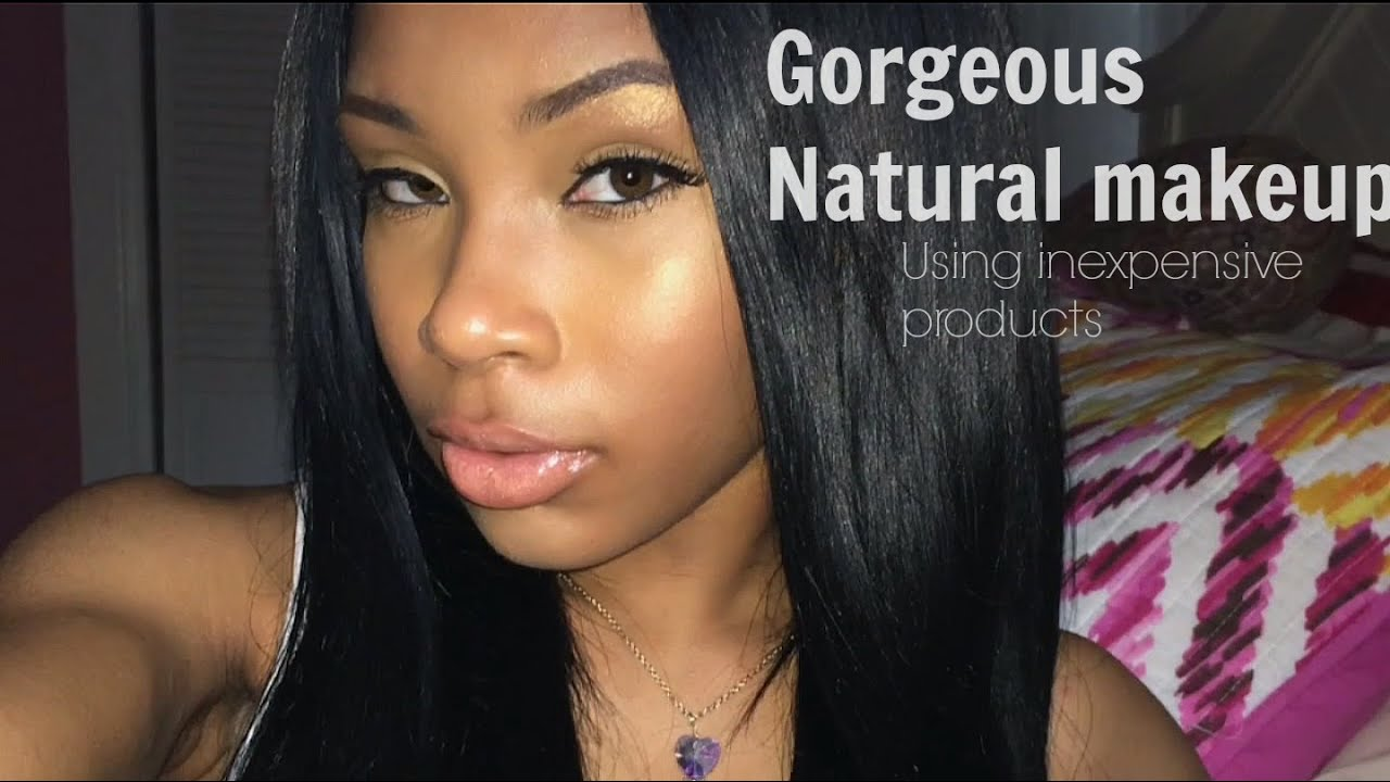 Beauty On A Budget! ❤ Natural make-up using inexpensive products