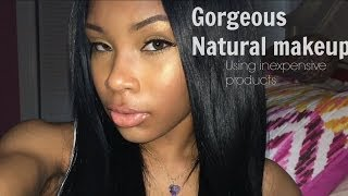 Beauty On A Budget! ❤ Natural make-up using inexpensive products Thumbnail