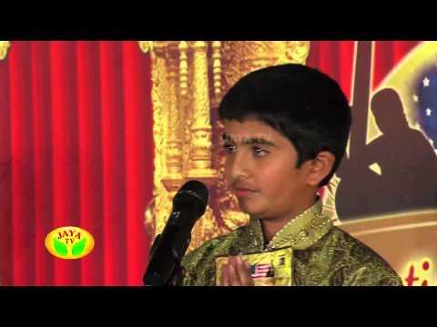 Carnatic Music Idol Episode 08 On Wednesday, 29/01/14