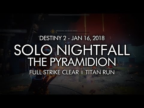 Destiny 2: Nightfall Pyramidion Strike guide - tips, tactics