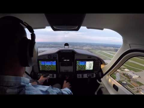 Tecnam P2008 - first solo flight