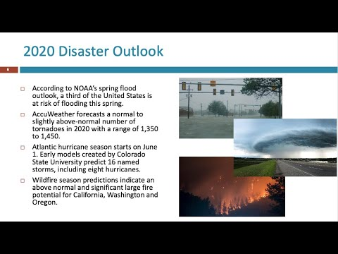 COVID-19: Managing Multiple Disasters Amid the Pandemic webinar
