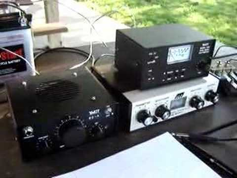 Ten-Tec T1253 Regen SW Radio Kit SSB demonstration | FunnyCat TV