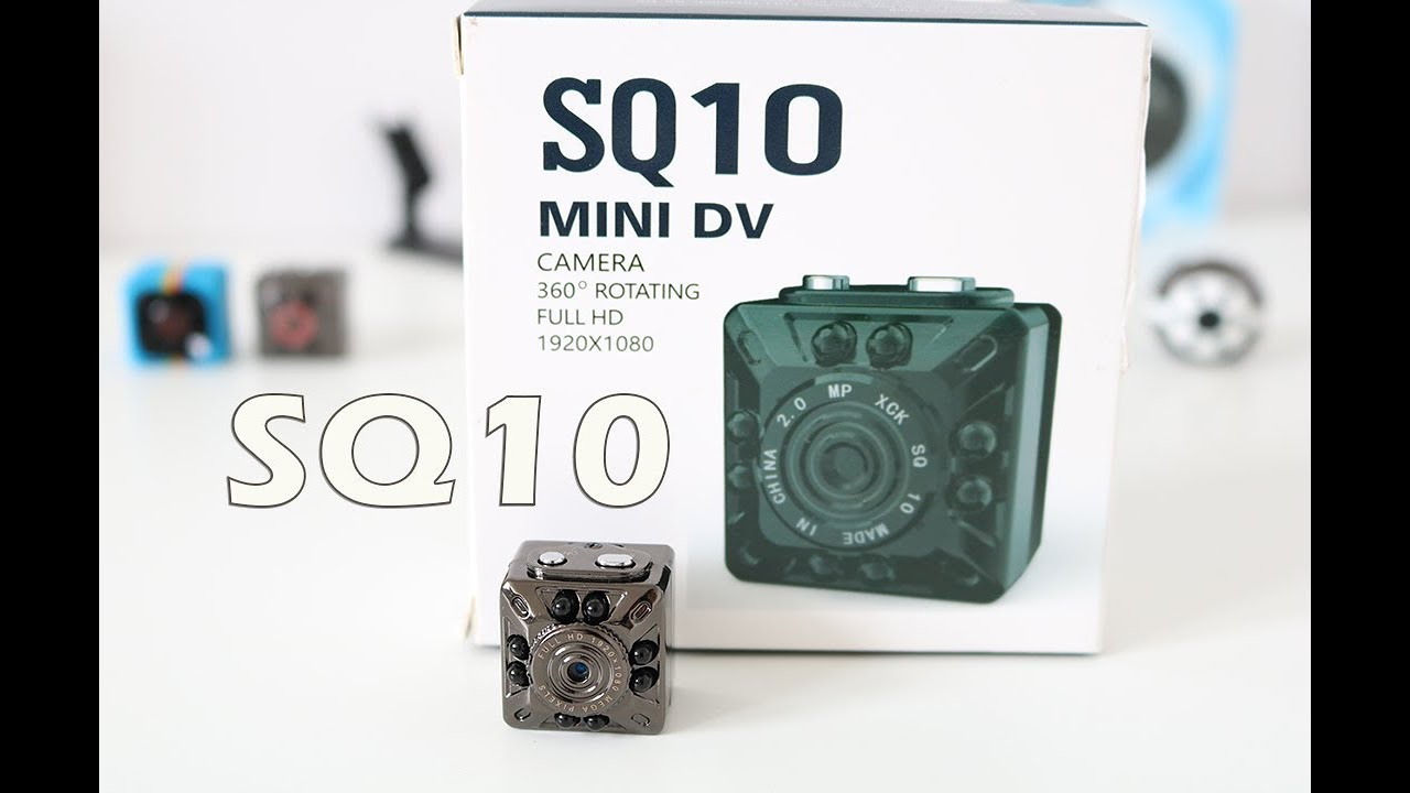 SQ10 Mini Camera Review - Sample Footage Night Vision - YouTube
