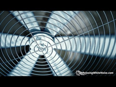 Sleep to Fan Sound White Noise | 10 Hours Relaxation