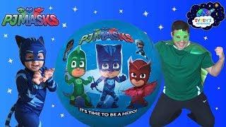 PJ MASKS GIANT EGG SURPRISE Opening Surprise Toys Disney Toys Catboy Gekko Owlette