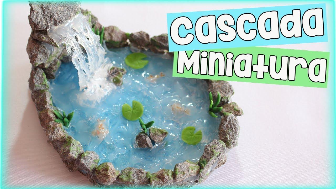 Cascada en miniatura youtube for Accesorios para estanques de agua