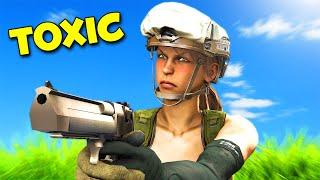 Toxic GIRL plays Modern Warfare