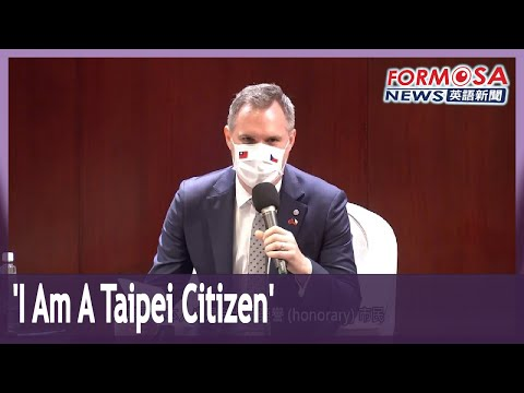 'I am a Taipei citizen,' mayor of Prague says