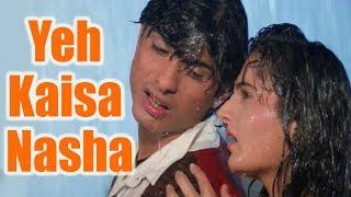 Yeh Kaisa Nasha - Hindi Romantic Song | Kumar Sanu, Alka Yagnik | Ek Phool Teen Kante