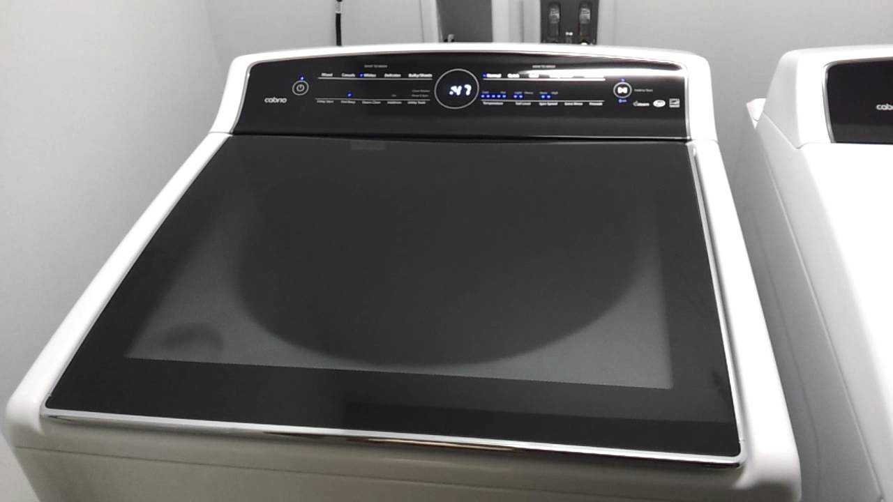 washing machine touch screen