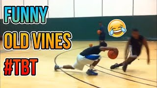 Funny OLD Throwback Basketball 🏀 Vines