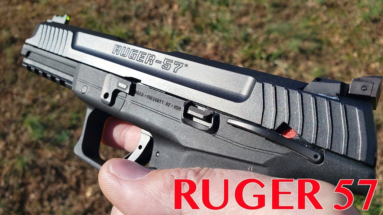 Download THE NEW RUGER 57! FULL REVIEW