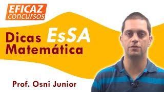 Questões EsSA   Matemática