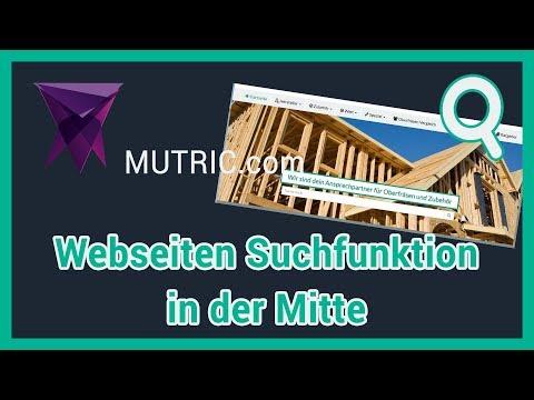 💎 ► Webseiten Suchfunktion In Der Mitte [Affiliatetheme.io HTML Und CSS] | Mutric.com »