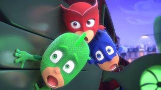 PJ Masks Super Pigiamini Il treno scomparso Nuovi Episodi | Cartoni Animati