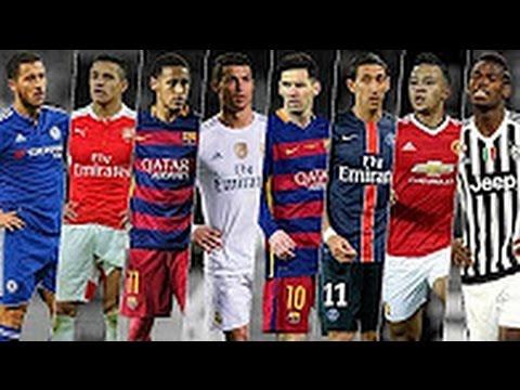 Download Football Skills & Tricks ● C.Ronaldo ● Neymar ● Messi ● Suarez ●  Pogba ● Ibrahimovic 2016 |HD
